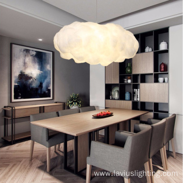 Indoor living room bedroom cloud pendant light
